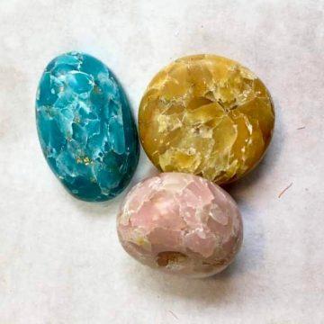 Arcilla polimérica - Piedras preciosas